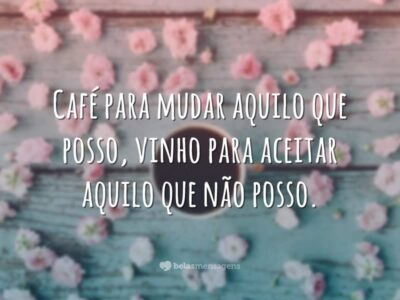 Café para mudar