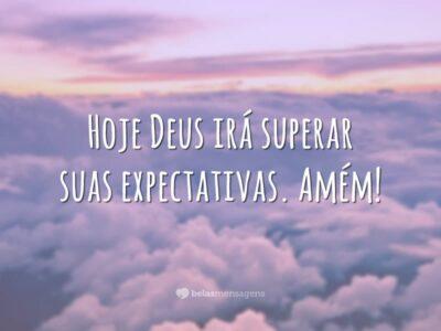 Deus irá te surpreender