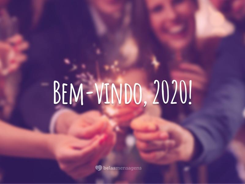 Bem-vindo, 2020!