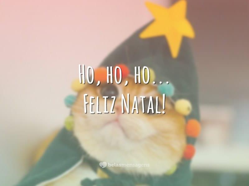 Ho, ho, ho… Feliz Natal!