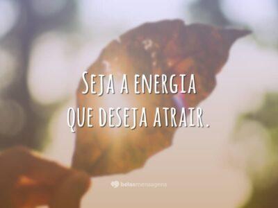 Seja a energia