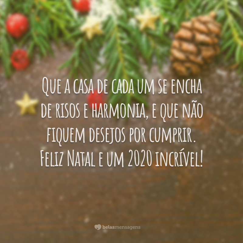 40 Frases De Feliz Natal E 2020 Para Desejar Carinho às